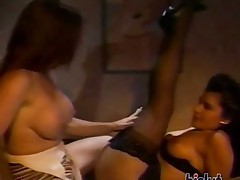 Alicia fucks her friend