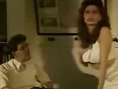 Retro porn near hairy Rabelaisian cleft creampie