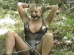 Horny floosie thraldom squirt