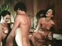 Two guys are sedentary in a hot tub watching several cheerleaders perform. A transitory at last both girls are bare and physical sucking several guys while others amuse them on. About to both girls realize fucked in varous positions.