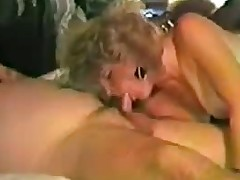 Virago Sucking Together with Stroking Cock