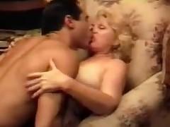 Blonde Grandma Bonking Vintage