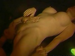 Patty Plenty  80s Pornstar Having Rough Sex
