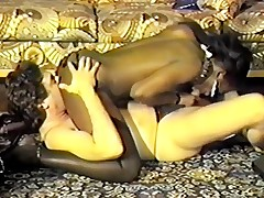 Smut retro vid concerning Sensuous fucking fest