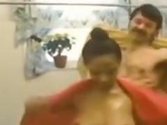 Desiree West - Shower scene
