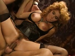 Lea Martini rides Eros Cristaldi's pulsing howler up a output scene