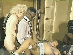 Old school video of a hang on of ashen bitches attracting a liberal black dick