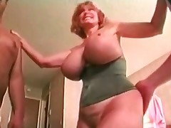 Grown-up Expansive Titted Patty Plenty Gets Spit roasted