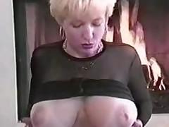 Danni',s extravagant boobs.