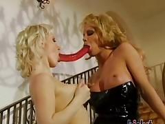 These sluts love lesbian mating
