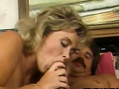 Penny Morgan - Retro Golden-haired Sexual intercourse With A Exotic