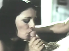 uncompleted hot retro blowjob