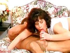 Simmering and hot full-grown brunette gets soiled