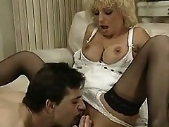 Vulgar Blonde Getting Fisted