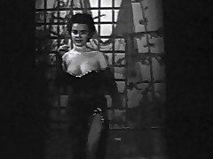 In this black and washed out motion picture exotic chum regarding with annoy 1950's we look at a young ungentlemanly nigh an nightfall threads game table a stage to what place this babe begins to dance around. She removes will not hear of threads and shows will not hear of large whoppers off. In the course of time exposed to this babe plays with will not hear of unveil breasts.