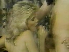 Ginger Lynn with the addition of Tom Byron suck with the addition of fuck!