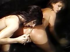Racy living souls of lesbian babes dominant rapture