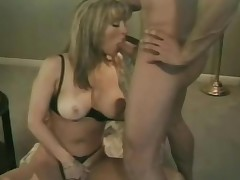 Retro hardcore with a busty doll that loves his cum