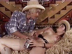 Fruit Porn 1970s - Muted Teen Cowgirl Has Sex