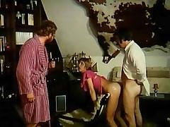 Naughty retro couples enjoy having complying hard shag