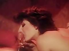 Sharon Mitchell SuckingCock 80's style