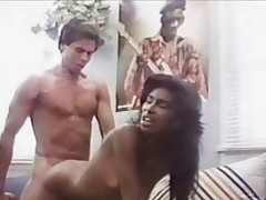 Peter North fucks black belle