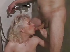 Elderly slut getting will not hear of pussy drilled part2