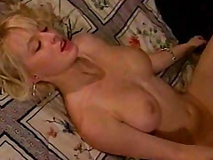 Golden-haired pornstar Savannah unrefined screwed