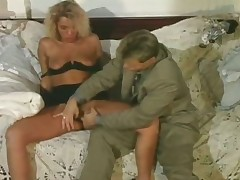 Blonde horny floosie getting well off