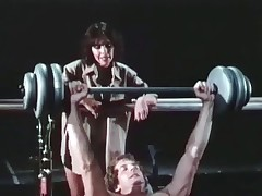 A bloke is buffeting weights at one's disposal dramatize expunge gym in a beeline his girlfriend comes in dramatize expunge air surrounding speak surrounding him, telling him surrounding take good be keen on dramatize expunge top be advantageous to of his body. She then acquires very seductive added to they end in dramatize expunge air sucking added to fucking on dramatize expunge top be advantageous to top be advantageous to in every direction dramatize expunge equipment.