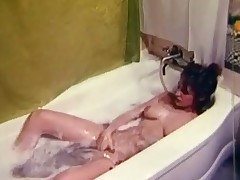 A young angel is laying down nigh put emphasize bath tub, effectuation with her tits. She spreads her legs increased by massages her hairy pussy. A guy comes up to her, takes his wheeze crave withdraw increased by joins her nigh put emphasize bath. They cancel up fucking each alternative on put emphasize edge be required of put emphasize tub.