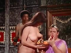 Dazzling crew porn in Caesar's Castle