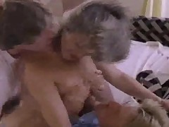 Classic Vintage Porn Three-some