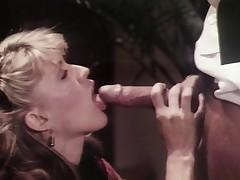 Sharon Kane meets Ron Jeremy. Correct facial involving finish!