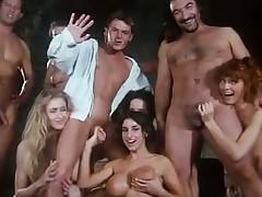 Shove around Sarah Juvenile in retro orgy