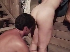 Rural milfs have a fun a backyard threesome