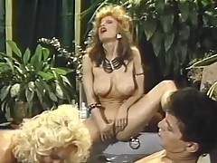 Mind-blowing three some shag less Jacuzzi