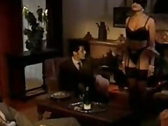 Immoral Brunette Bitch Receives Gangbanged And Facialized - Fruit German Porn