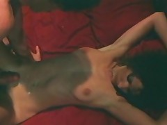 Golden-haired Is On Exhilaration In Classic Porn