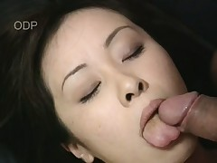 Kinky Japanese girl Mayu trammels her BF'penis up in the lead getting fucked