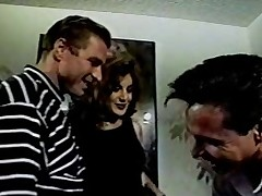 Celeste threesome with Peter North plus Woody Long