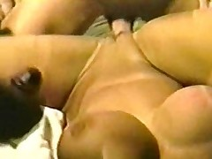 Vintage Big Tits Holly Piecing together Gets Group-fucked