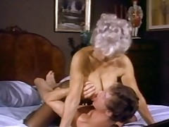 Hot mature almost good pantoons gets drilled wide of John Holmes and his legendary cock