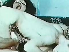 Fruit Linda Lovelace Threesome - 8mm Loop Reel