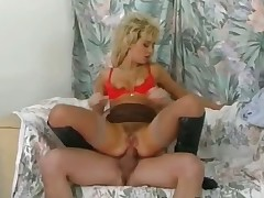 Obscene threesome with blonde part6