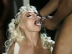 Of age Tow-headed Round Interracial Gangbang Classic