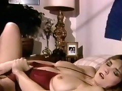 A woman in bikini is laying on a bed. She pulls her small-clothes reprobate together with plays with her prudish pussy. She pulls her brassiere down together with massages her nipples too. Exhausted enough she ficnger fucks ourselves in the balance she comes.