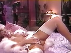 Housewife Gay chicks funtime when hubby is outside