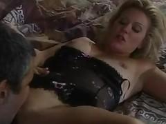 Glamorous old-school porn famousness copulates hard
