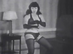 Betty Page Badinage in Lingerie